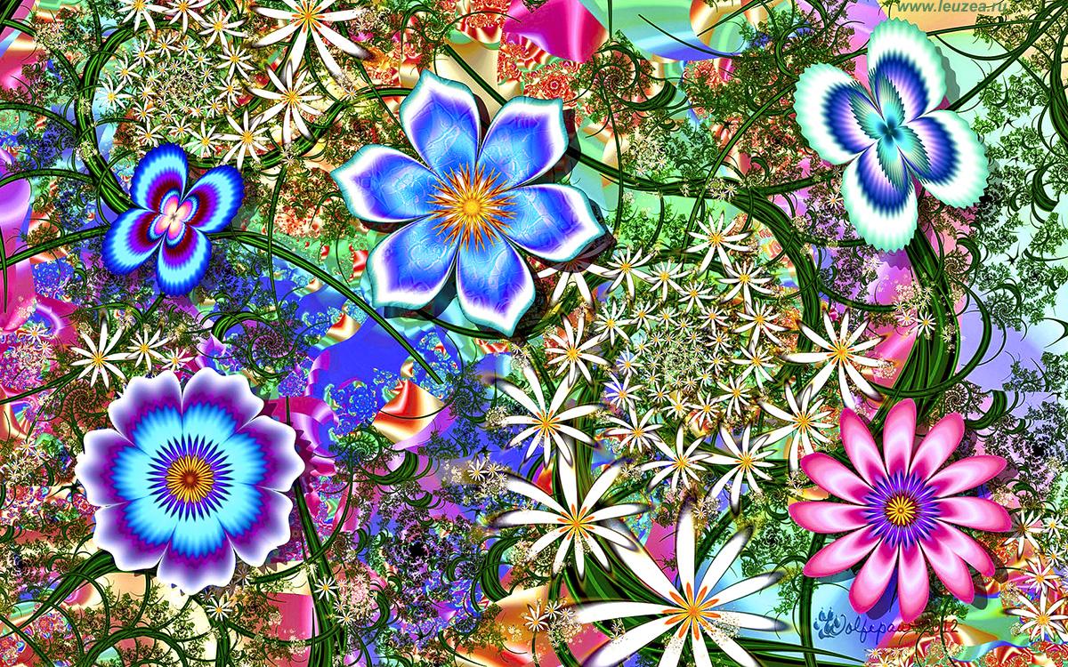 Креатив цветочный
