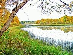 Озеро июльское